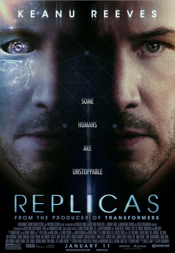 Keanu Reeves in Replicas