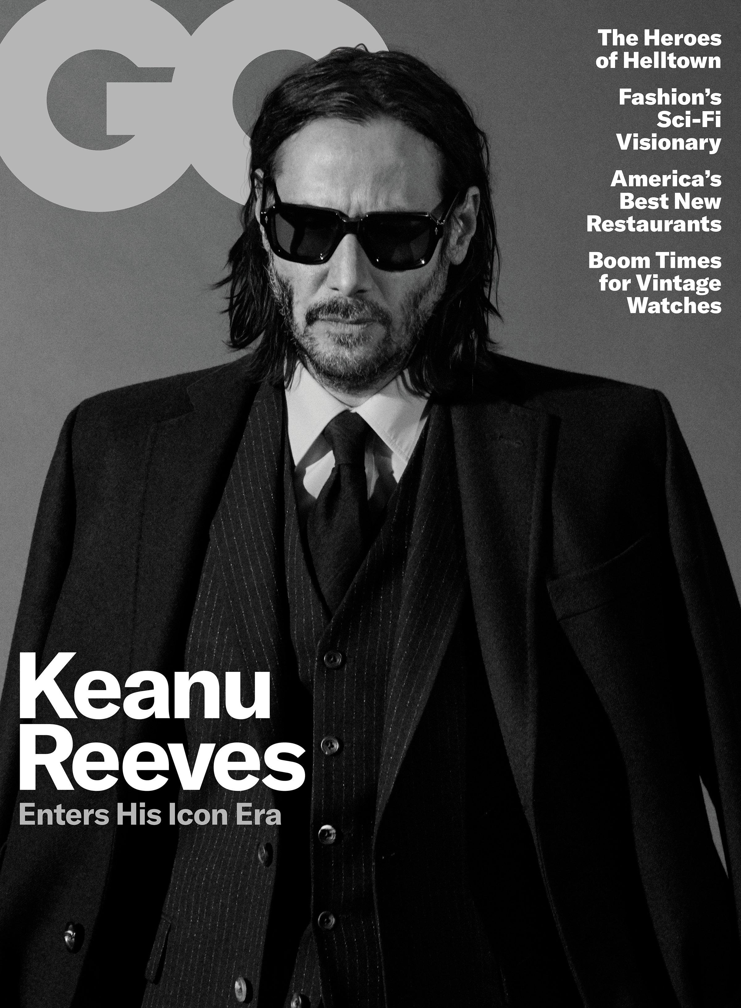 Keanu Reeves in GQ US May 2019