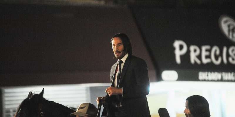 """John Wick: Parabellum"" On Set"