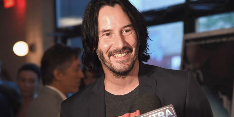 Keanu attends 'Siberia' premiere in New York